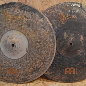 "MEINL Byzance 15"" Extra Dry Medium Thin Hi-Hats - Handpicked by dD Drums"