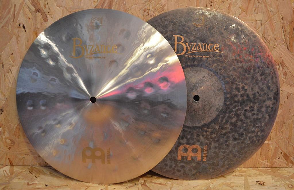 MEINL Byzance 15″ Jazz Thin Hi-Hats – Handpicked by dD Drums