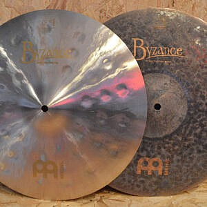 "MEINL Byzance 15"" Jazz Thin Hi-Hats - Handpicked by dD Drums"