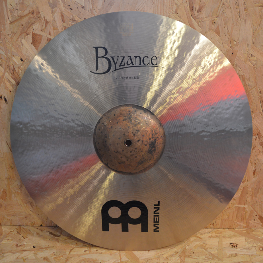 MEINL Byzance 21″ Traditional Polyphonic Ride