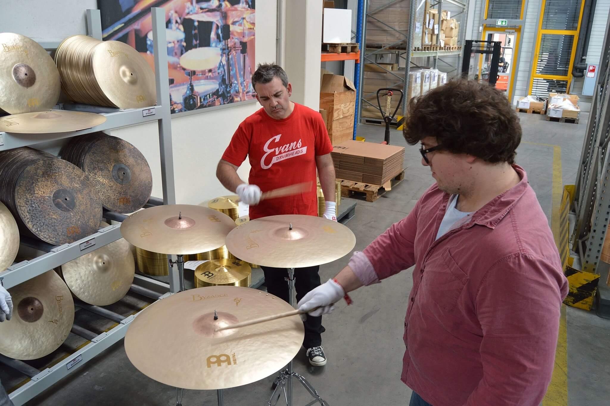Meinl Byzance dD Drums
