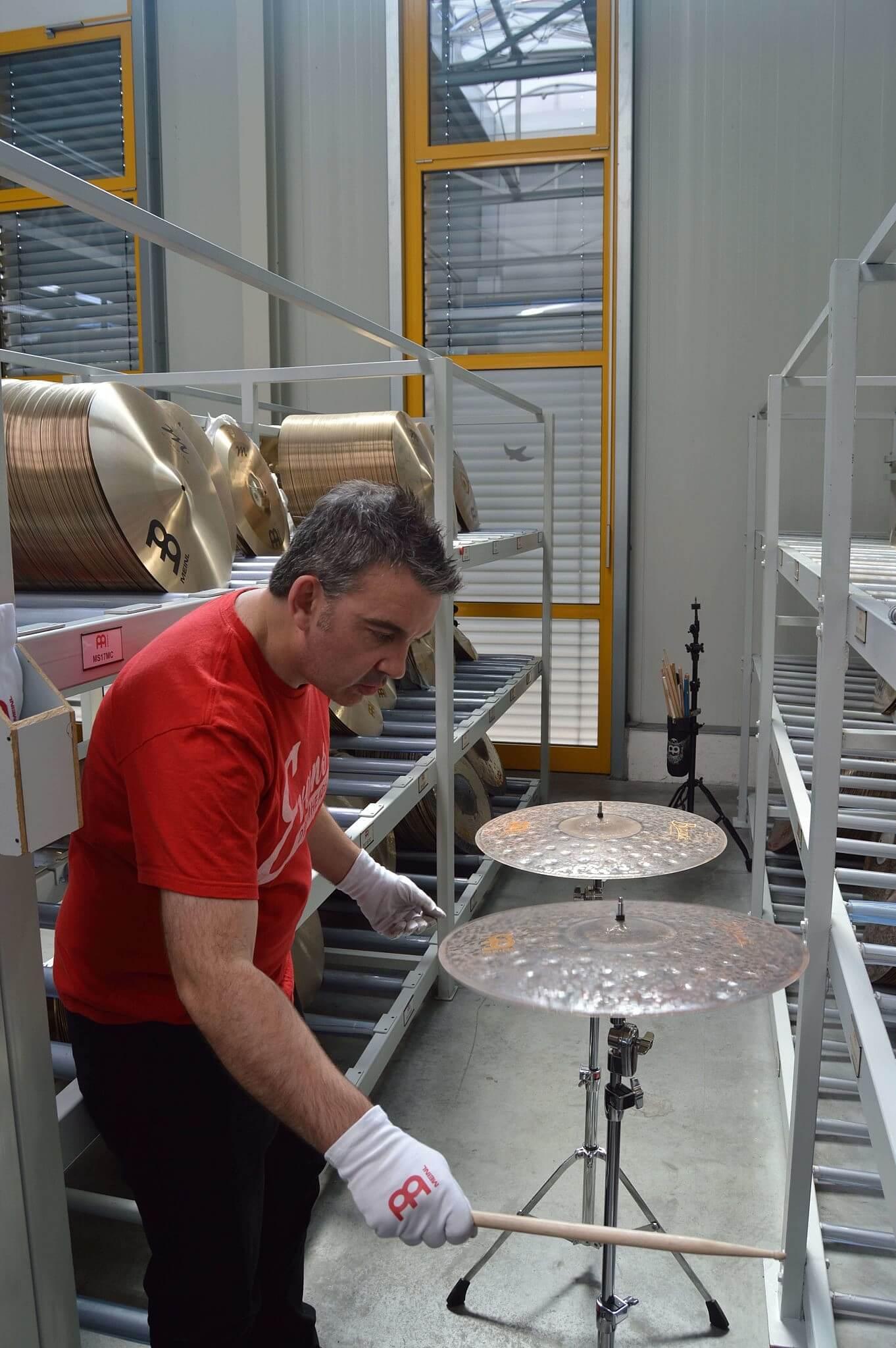 Meinl Byzance at dD Drums