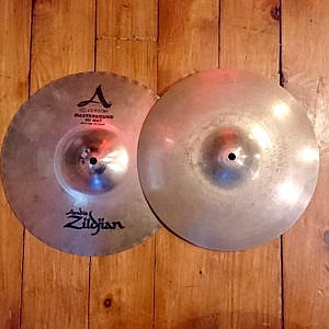 "Pre-Owned 13"" Zildjian A Custom Mastersound Hi Hats"