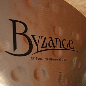 """MEINL Byzance Traditional 18"""" Extra Thin Hammered Crash - Handpicked by dD Drums"""