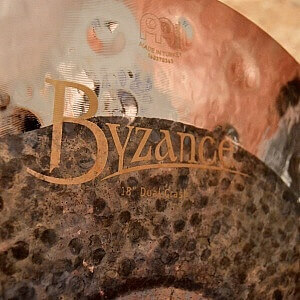 "MEINL Byzance Extra Dry 18"" Dual Crash - Handpicked by dD Drums"