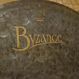 "MEINL Byzance Extra Dry 16"" Medium-Thin Hi-Hats - Handpicked by dD Drums"