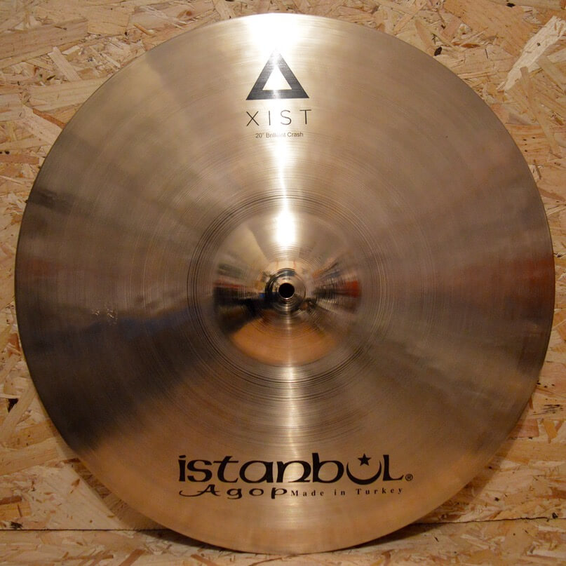 Istanbul Agop Xist 20″ Traditional Crash & B400 Stand