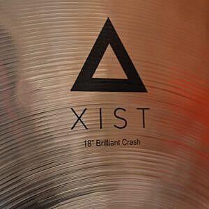 "Istanbul Agop Xist 18"" Brilliant Crash & B400 Stand"