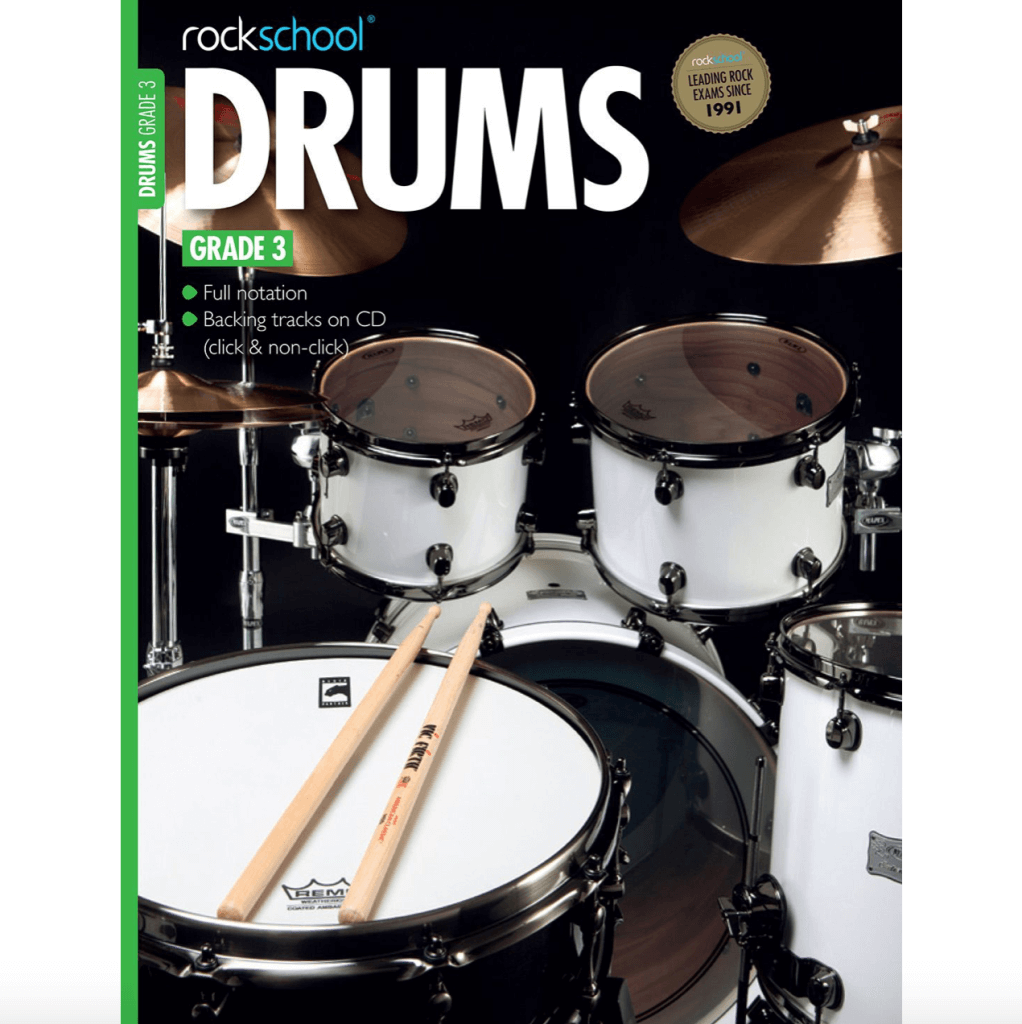 Rockschool – Drums Grade 3