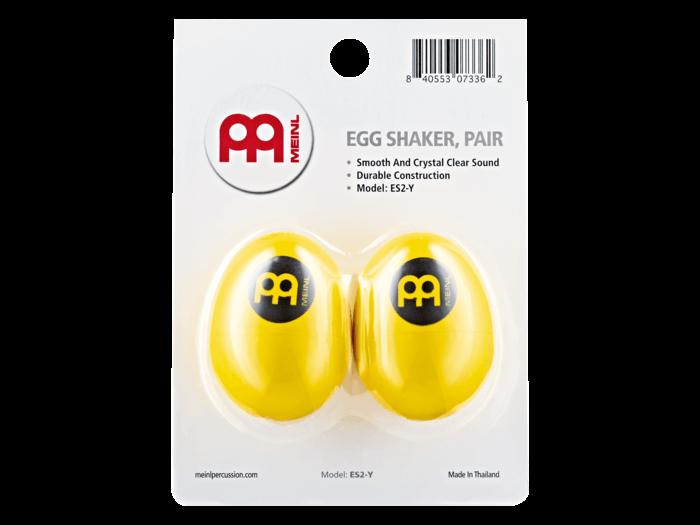 MEINL Egg Shaker – Yellow 1