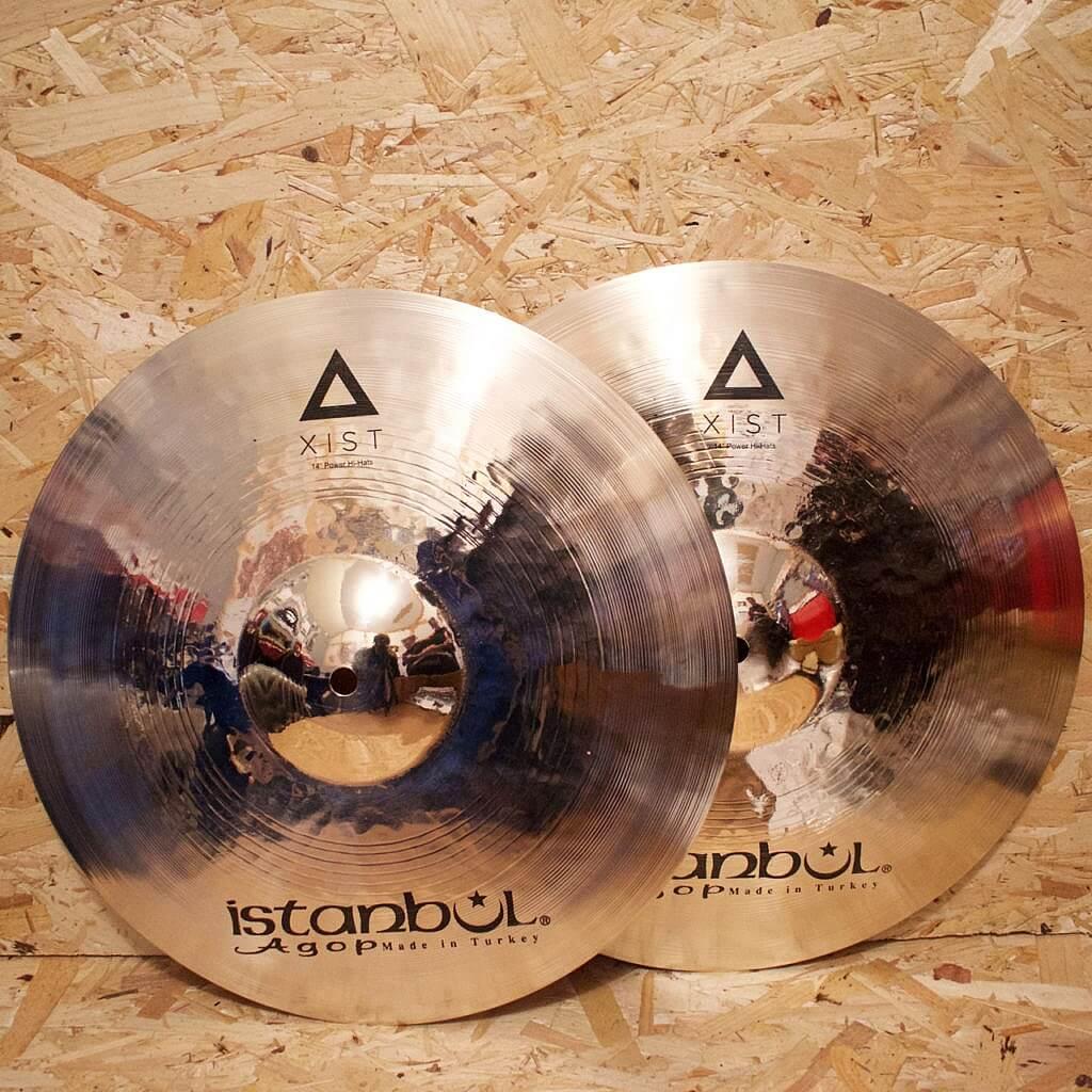 Istanbul Agop Xist 14″ Power Hi-Hats