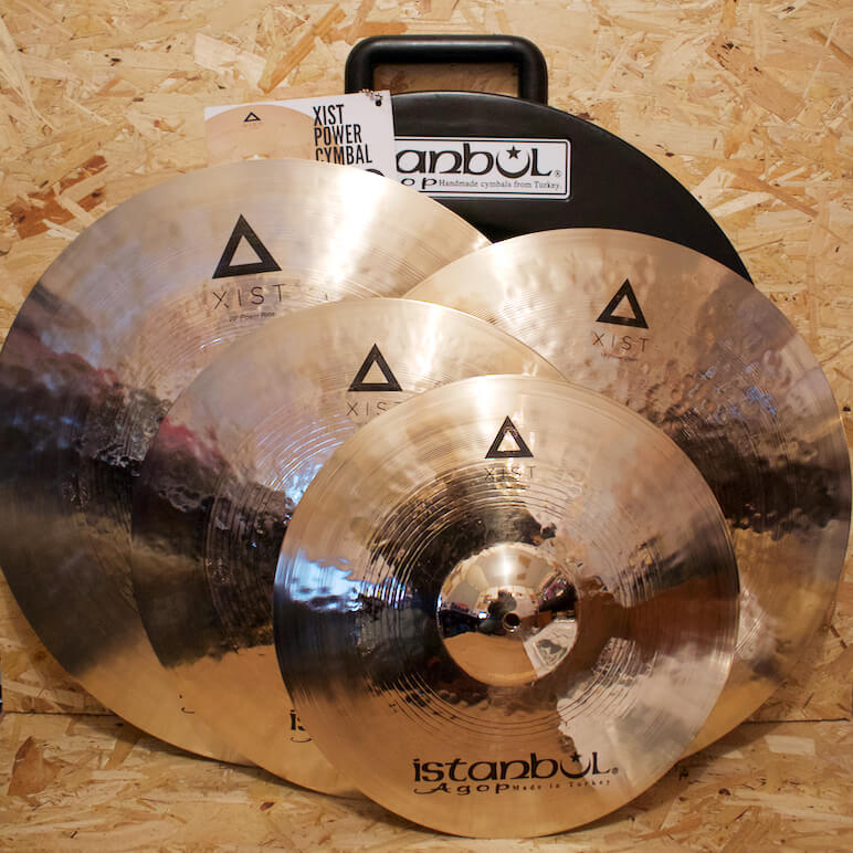 Istanbul Agop Xist Power Box Set (Includes Free 18in Crash)