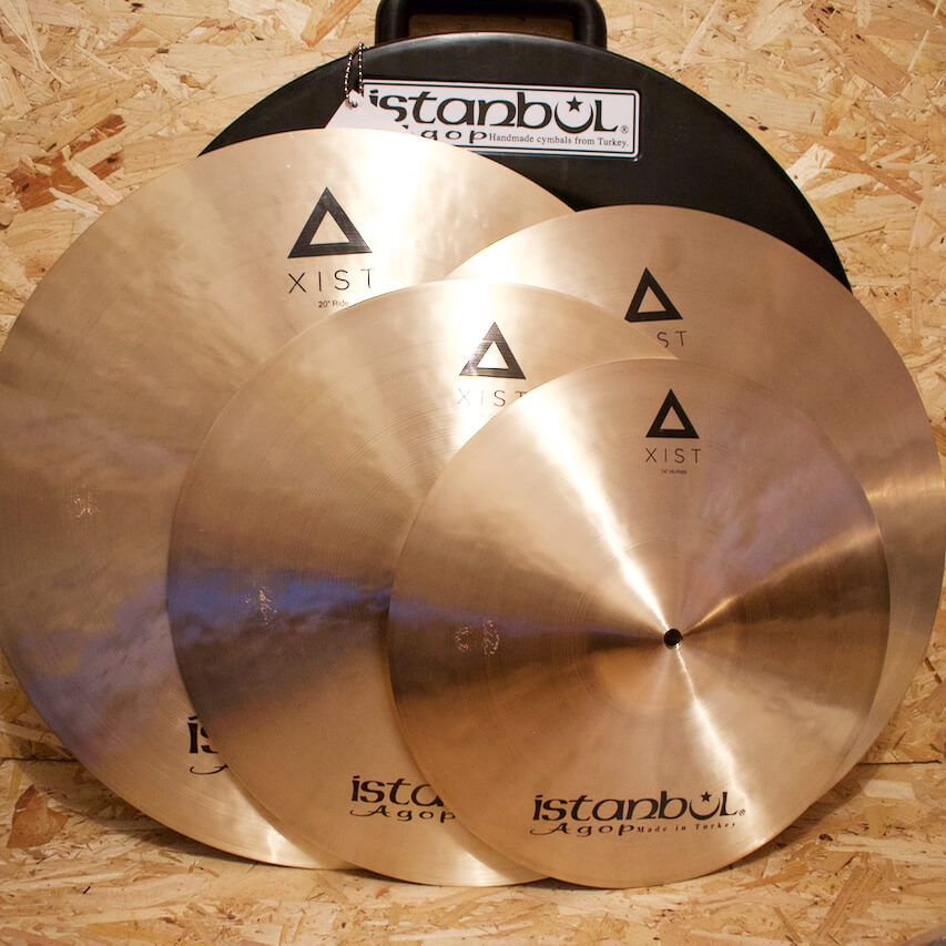 Istanbul Agop Xist Traditional Box Set (Includes Free 18in Crash)
