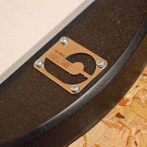 """British Drum Company 6"""" Precision Practice Pad"""