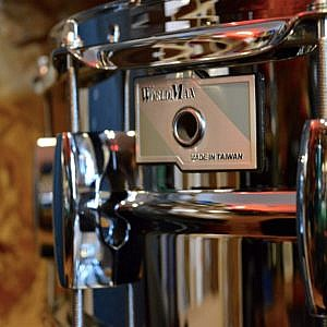 WorldMax Steel Snare Drum - 14x5.5in