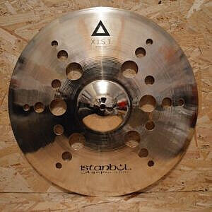 "Istanbul Agop Xist 18"" Ion Crash & B400 Stand"