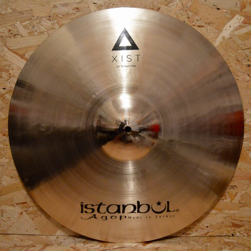 Istanbul Agop Xist 20″ Brilliant Ride & B400 Stand