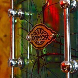 Forecast Custom Coke Bottle Acrylic Snare Drum - 14x6.5in