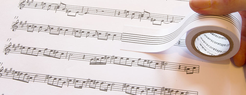 Overscore Manuscript Tape