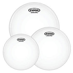 """Evans Level 360 G2 Coated Drum Heads Fusion Tom Pack - 10"""", 12"""", 14"""""""