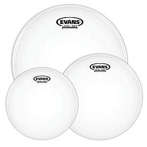 "Evans Level 360 G2 Coated Drum Heads Rock Tom Pack - 10"", 12"", 16"""