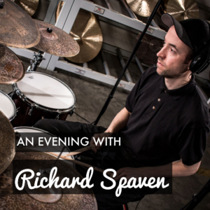 An Evening With Richard Spaven - Sunday 11th of August