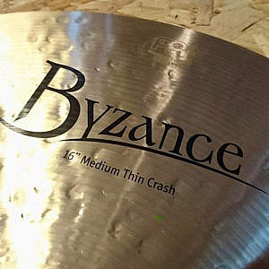 "MEINL Byzance Traditional 16"" Medium Thin Crash"