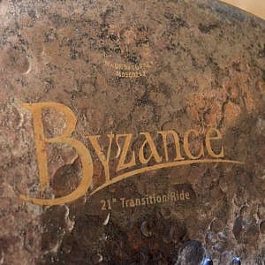 "MEINL Byzance Extra Dry 21"" Transition Ride - Handpicked by dD Drums"