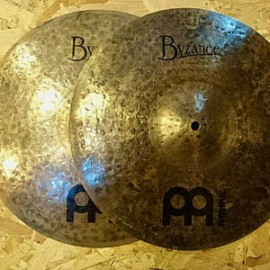 "MEINL Byzance Dark 15"" Hi-Hats - Handpicked by dD Drums"