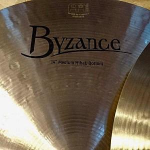 "MEINL Byzance Traditional 14"" Medium Hi-Hats"