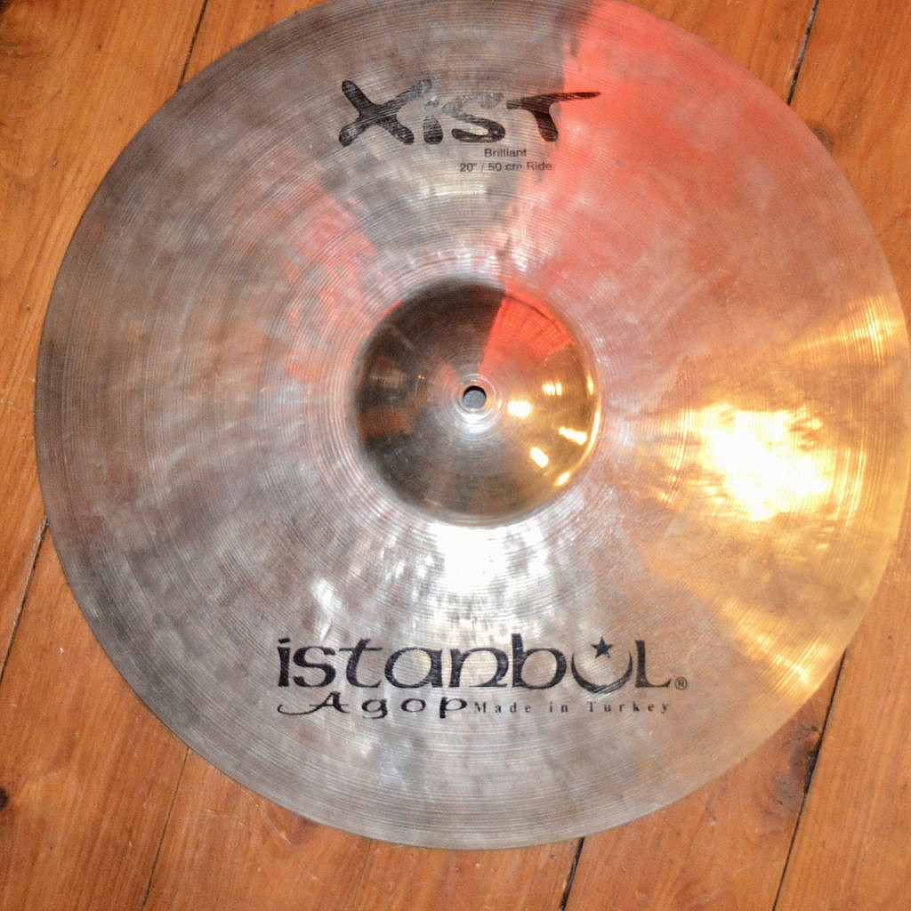 Istanbul Xist 20″ Brilliant Ride (Pre-Owned) [old logo]
