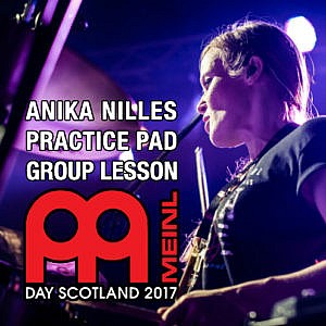 Meinl Day Scotland - Anika Nilles - Still Available at Event