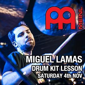 Miguel Lamas - Individual Drum Kit Tuition