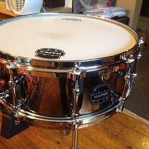 Mapex Armory Tomahawk 14 x 5.5 Steel Snare Drum - Pre-Owned