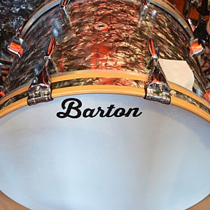 Barton 'Vintage Beech' Drum Kit 13/16/22