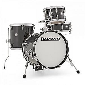 Ludwig Breakbeats Kit by ?uestlove - Black Sparkle