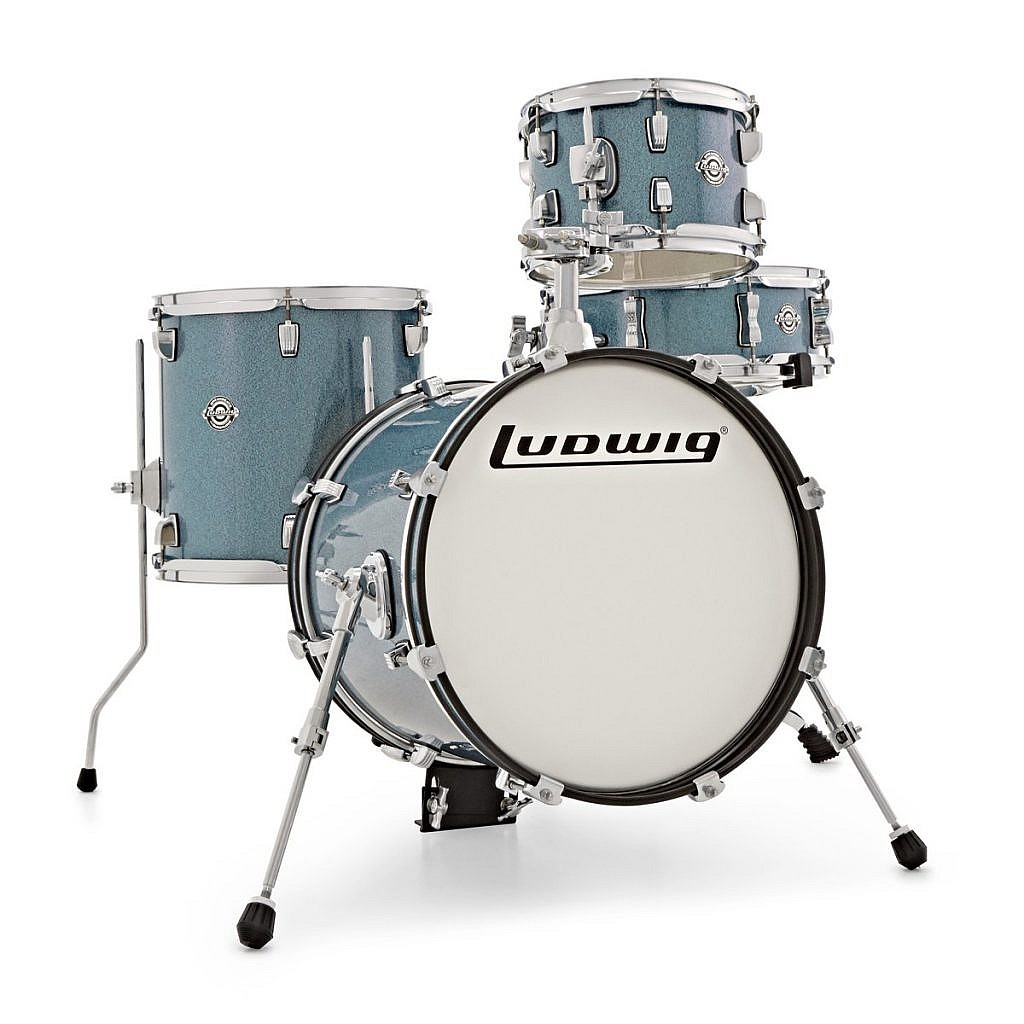 Ludwig Breakbeats Kit by ?uestlove – Blue Sparkle