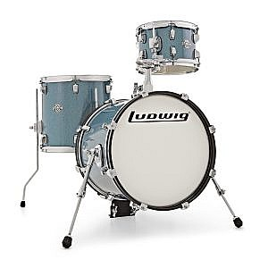 Ludwig Breakbeats Kit by ?uestlove - Blue Sparkle