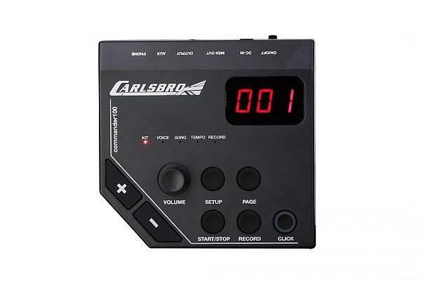 Carlsbro-CSD100-electronic-drumkit-drum-set-brain-sound-module