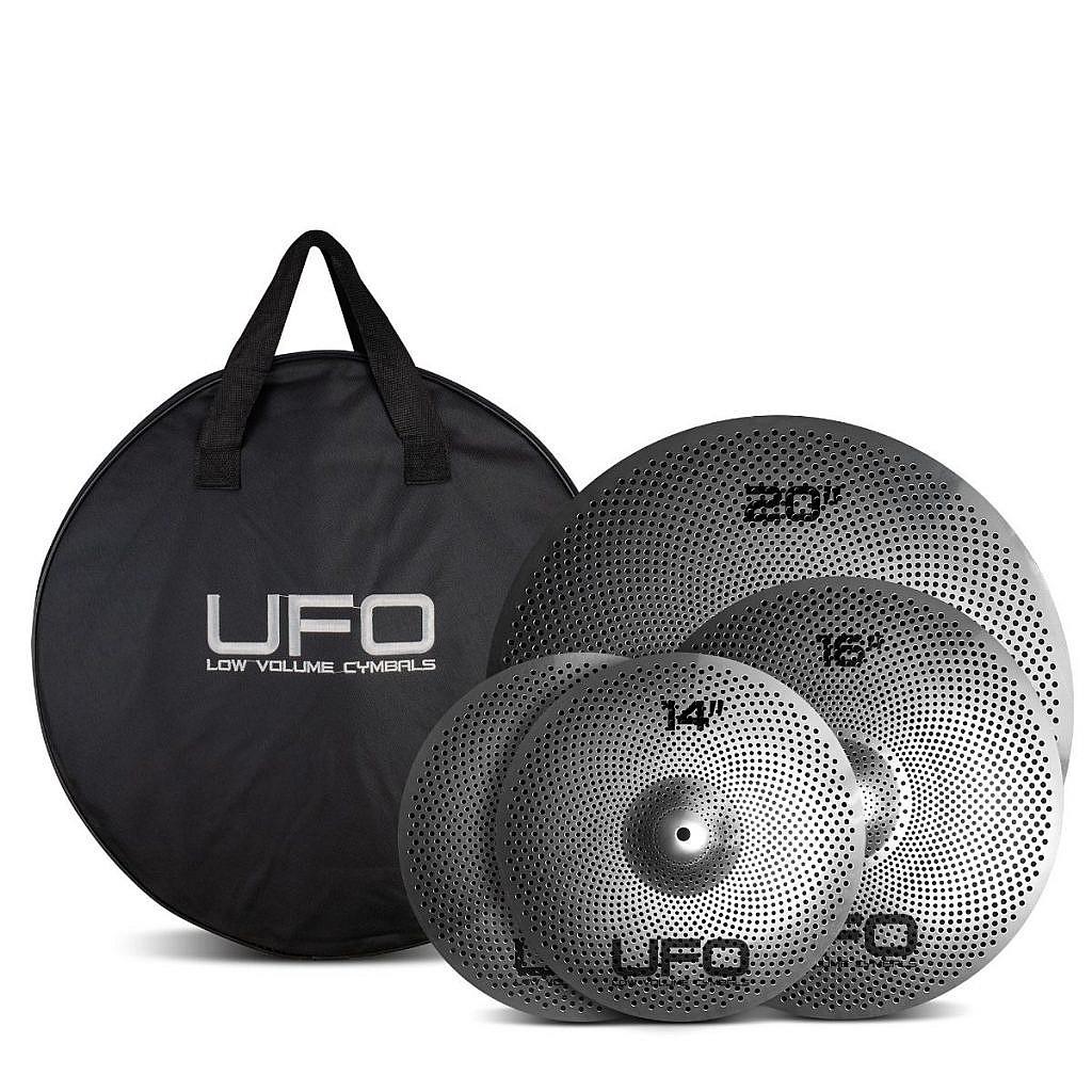 UFO – Low Volume Cymbals Set 1 +FREE BAG